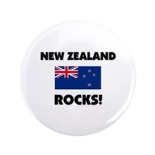 "New Zealand Rocks 3.5"" Button"