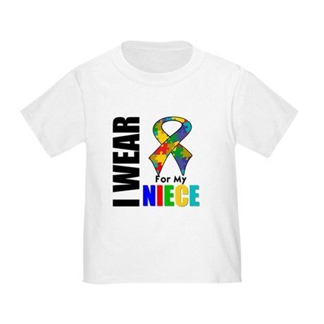 Autism Niece Toddler T-Shirt