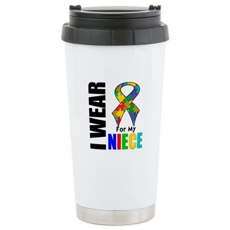 Autism Niece Ceramic Travel Mug