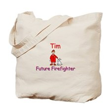 Tim - Future Firefighter Tote Bag