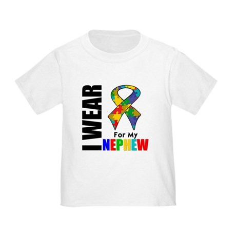 Autism Nephew Toddler T-Shirt