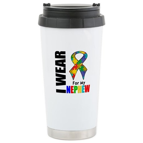 Autism Nephew Ceramic Travel Mug