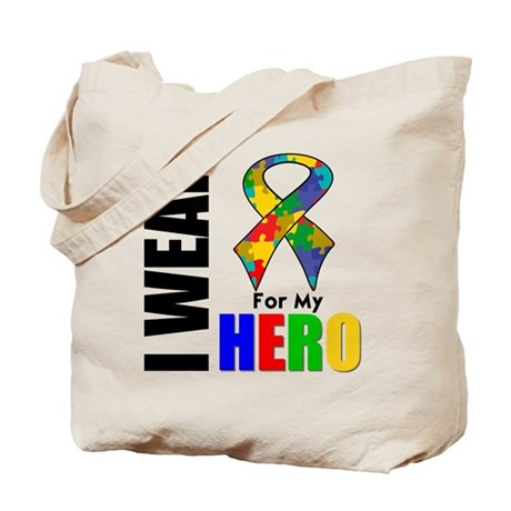 Autism Hero Tote Bag