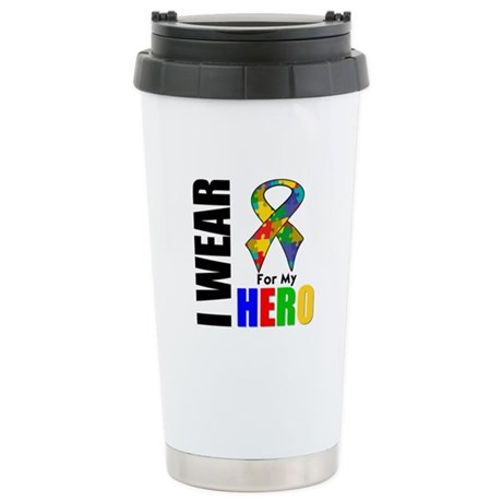 Autism Hero Ceramic Travel Mug
