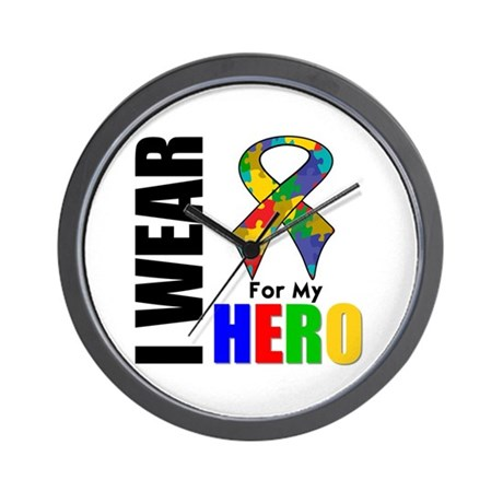 Autism Hero Wall Clock