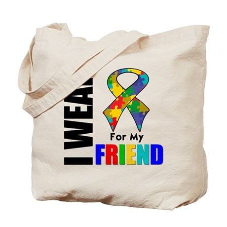 Autism Friend Tote Bag