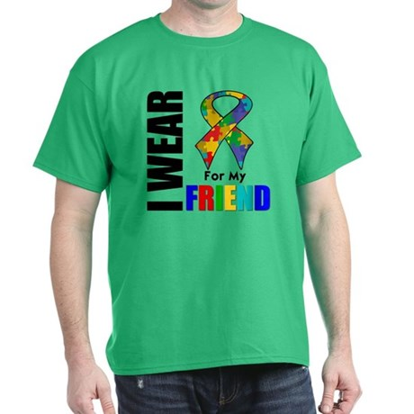 Autism Friend Dark T-Shirt