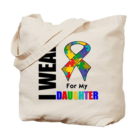 Autism Daughter Tote Bag