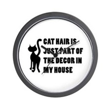 Funny Cat Lover Gift Wall Clock