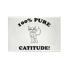 Cat Humor Gifts Rectangle Magnet