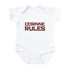 corinne rules Infant Bodysuit