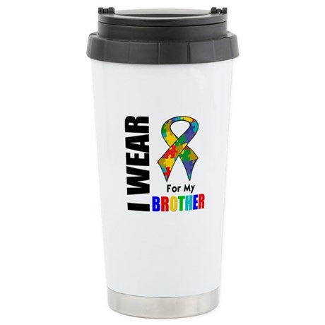 Autism Brother Ceramic Travel Mug