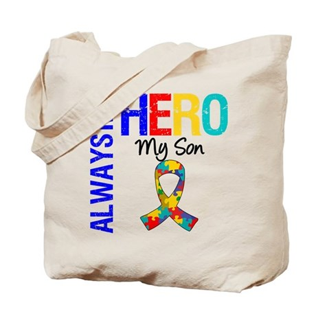 Autism Hero Son Tote Bag