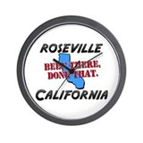 roseville california - been there, done that Wall