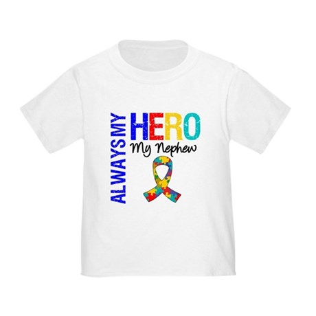 Autism Hero Nephew Toddler T-Shirt