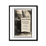 Kaiser Wilson - Suffragist Framed Panel Print