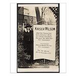 Kaiser Wilson - Suffragist Pickets Pres. Poster