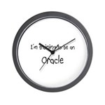 I'm Training To Be An Oracle Wall Clock