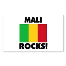 Mali Rocks Rectangle Decal