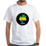 Flag Map of Gabon Shirt