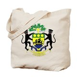 Gabon Coat of Arms Tote Bag