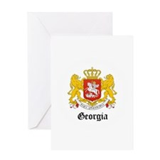 Georgian Coat of Arms Seal Greeting Card