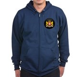 Coat of Arms of Georgia Zip Hoodie