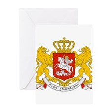Georgia Coat of Arms Greeting Card