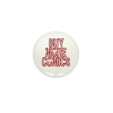 Buy More Comics Mini Button (10 pack)
