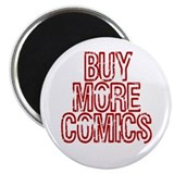 Buy More Comics Magnet
