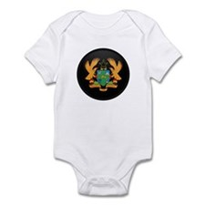 Coat of Arms of ghana Infant Bodysuit