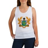 ghana Coat of Arms Women's Tank Top