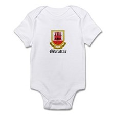 Gibraltarian Coat of Arms Sea Infant Bodysuit