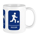 Eat, Sleep, Soccer! Small Mug