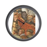 Cute Lenin Wall Clock