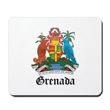 Grenadian Coat of Arms Seal Mousepad