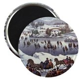 "Central Park in Winter 2.25"" Magnet (100 pack)"