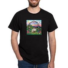 Rose Arbor / Himalayan Cat T-Shirt