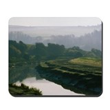 Dawn on the Downs matching Mousepad