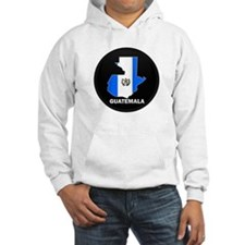 Flag Map of Guatemala Hoodie