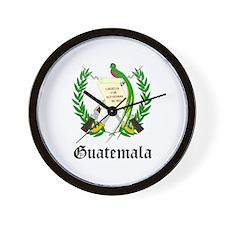 Guatemalan Coat of Arms Seal Wall Clock