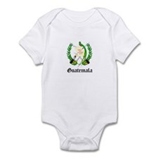 Guatemalan Coat of Arms Seal Infant Bodysuit