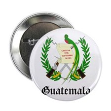 """Guatemalan Coat of Arms Seal 2.25"""" Button (10 pack"""