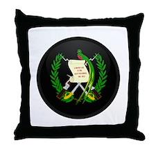Coat of Arms of Guatemala Throw Pillow