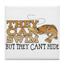 They Can Swim Tile Coaster