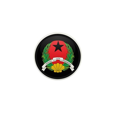 Coat of Arms of GUINEA BISSA Mini Button (10 pack)