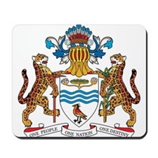 guyana Coat of Arms Mousepad