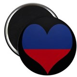 "I love Haiti Flag 2.25"" Magnet (10 pack)"