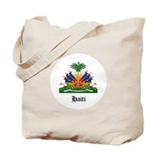 Haitian Coat of Arms Seal Tote Bag