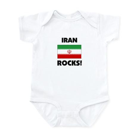 Iran Rocks Infant Bodysuit